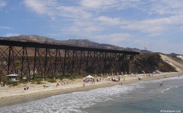 Train Trestle Gaviota Beach California