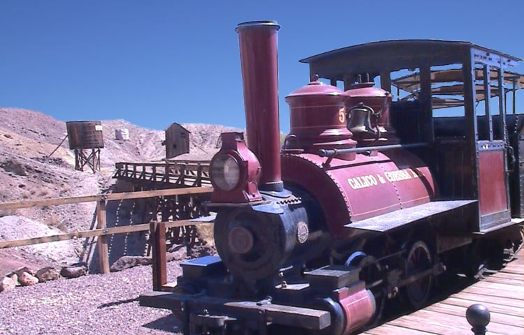 Calico Ghost Town Train