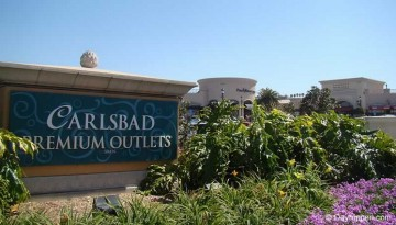Carlsbad Outlet Mall Shopping Day Trip