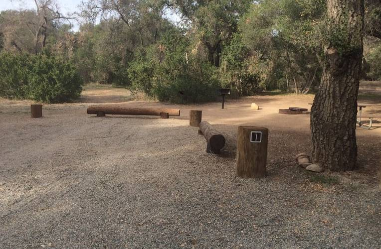 Caspers Wilderness Park Campsite