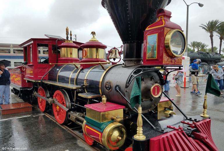 Fullerton Railroad Days Disney Railroad