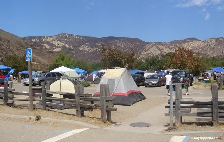 Tent Camping Gaviota State Park Campground