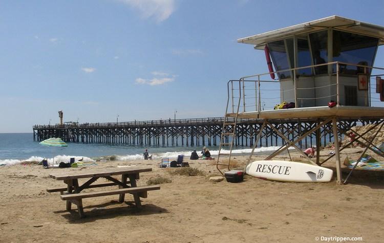 Gaviota State Park Beach Pier