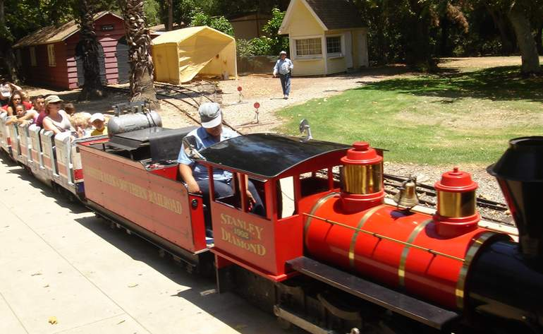 Griffith Park & Southern Railroad Kids Day Trip