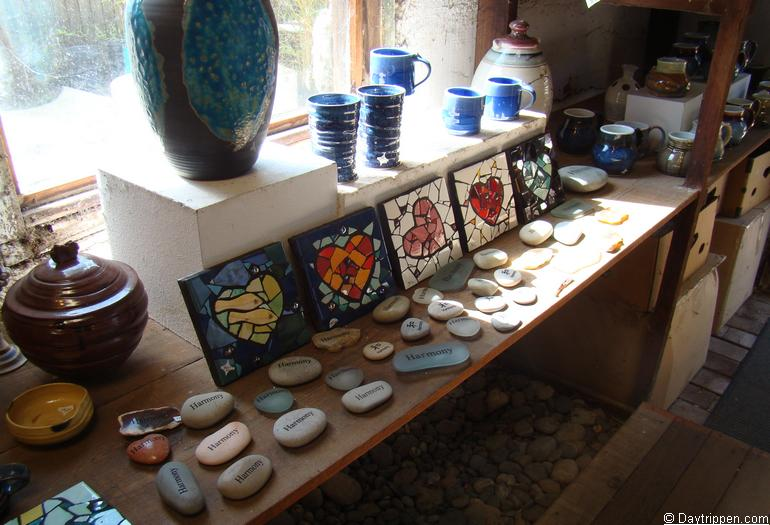 Harmony California Pottery Shop