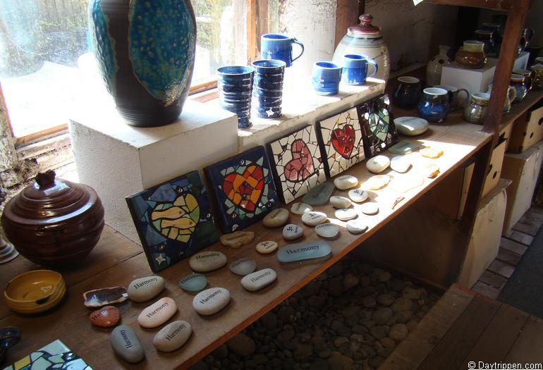 Harmony California Pottery Shop