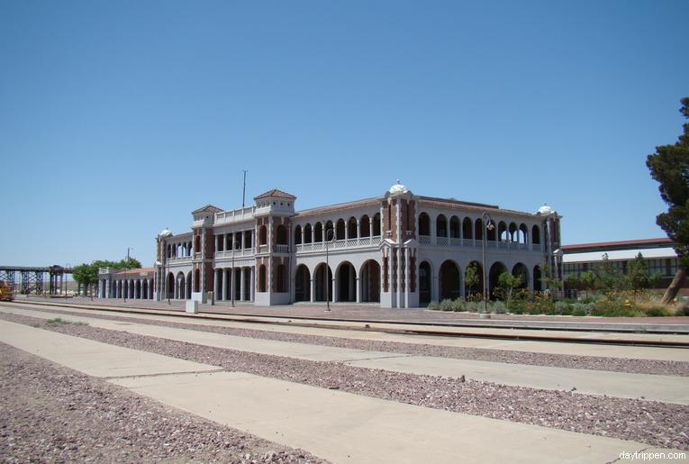 Harvey House Railroad Depot Barstow California