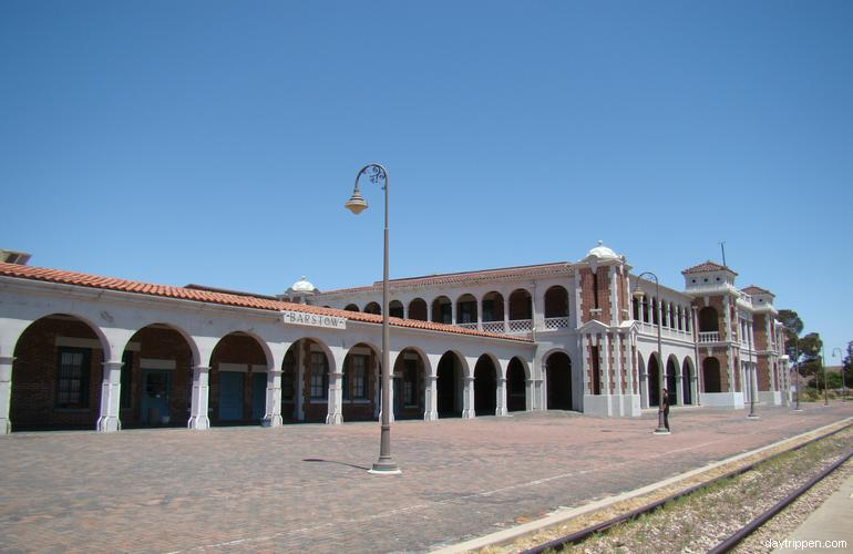 Barstow Harvey House Railroad Depot