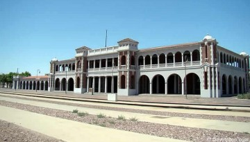 Harvey House Railroad Depot Casa Del Desert Barstow