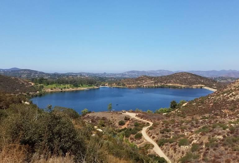 Lake Poway San Diego County