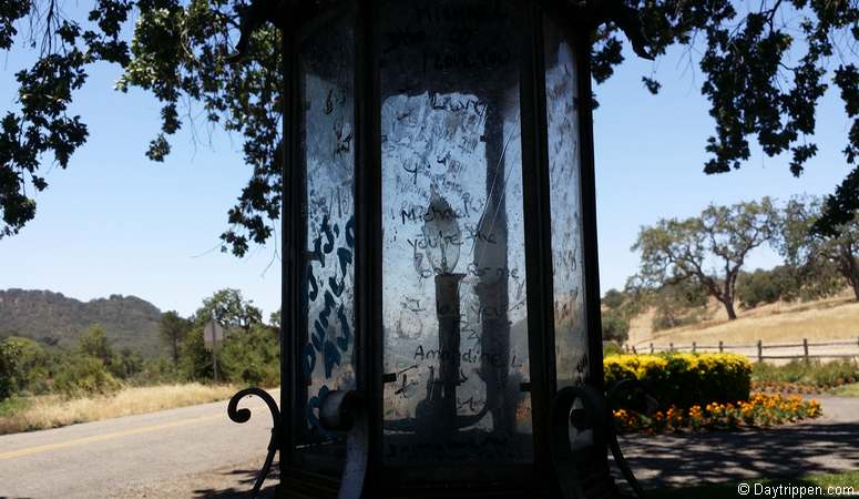 Entrance to Neverland Ranch Los Olivos, CA