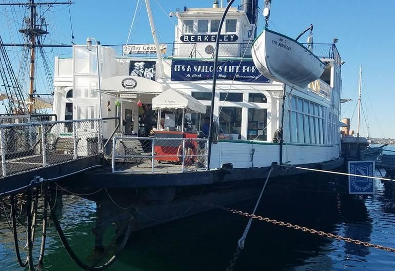 Maritime Museum of San Diego Berkeley Ferry
