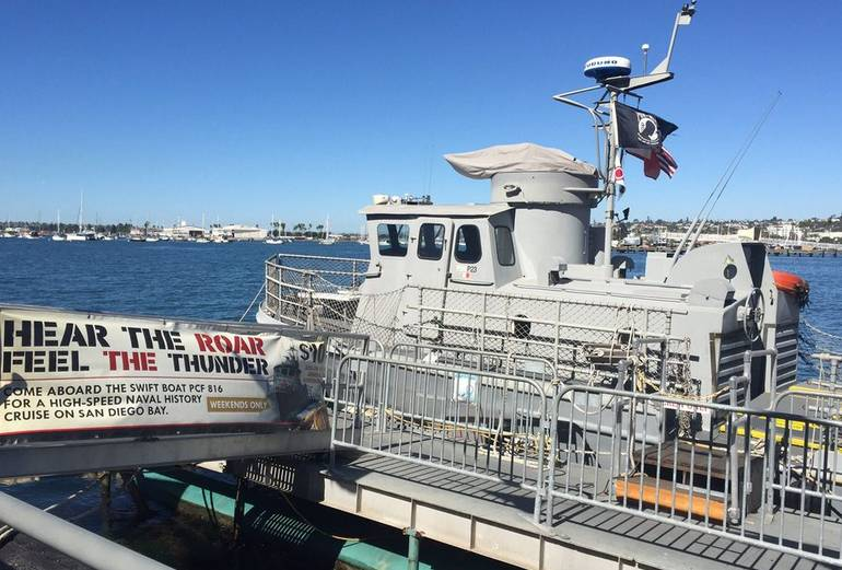 Maritime Museum of San Diego Swift Boat