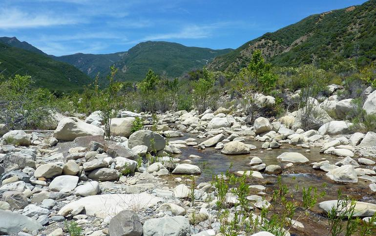 Matilija Creek Ojai Valley