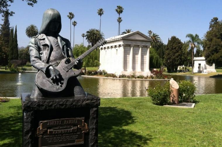Hollywood Forever Cemetery Johnny Ramone