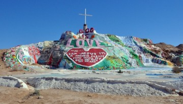 Salvation Mountain Day Trip Niland California