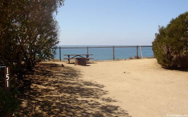 San Elijo State Beach Campsite 151