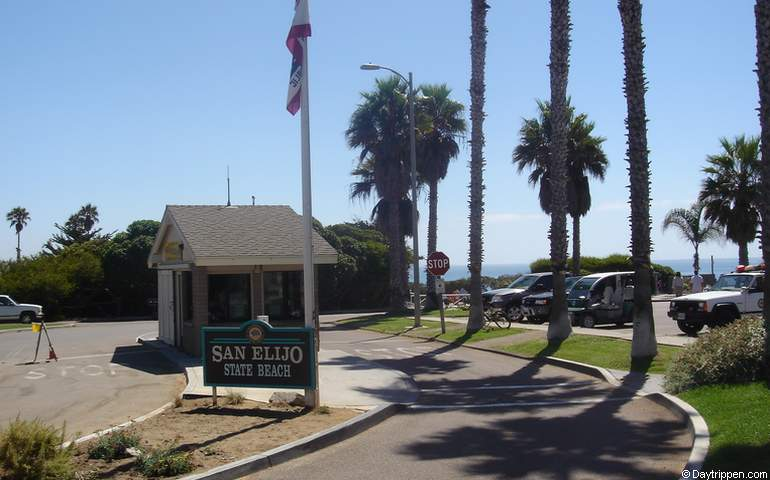 San Elijo State Beach Entrance