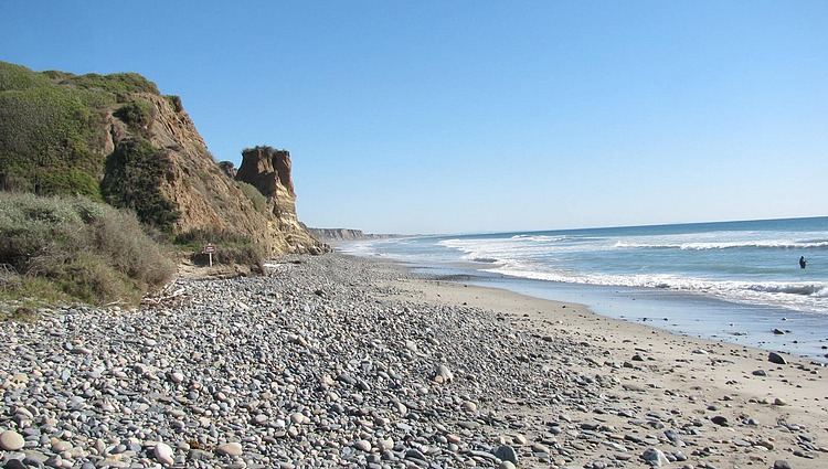San Onofre Bluffs Beach