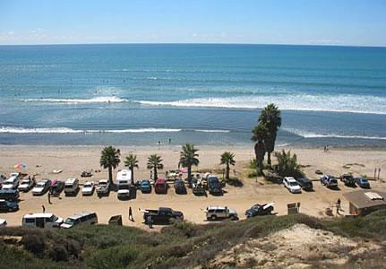 San Onofre Day Use Beach