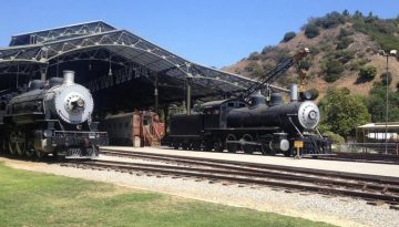 Travel Town Train Museum Griffith Park Day Trip