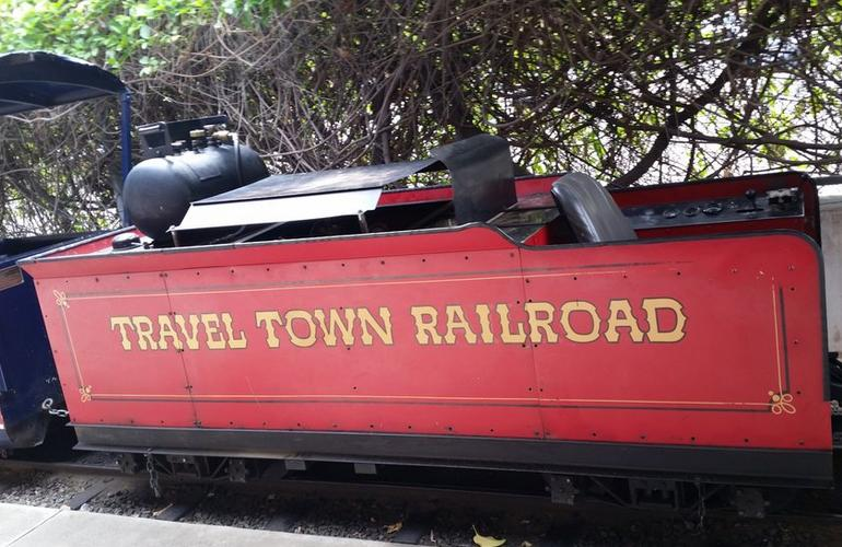 Travel Town Railroad