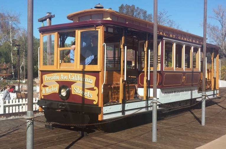 Old Poway Park Trolley Car