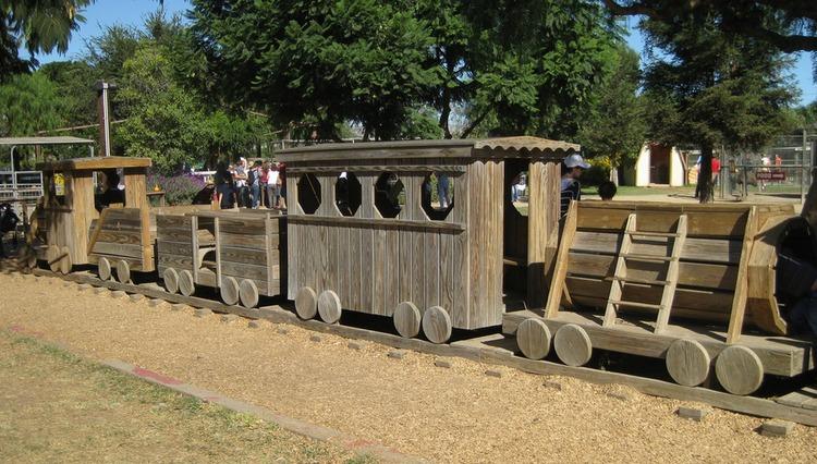 Underwood Family Farms Wood Train