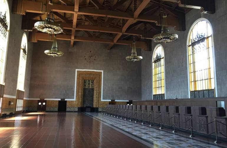 Union Station Los Angeles Original Ticket Booths