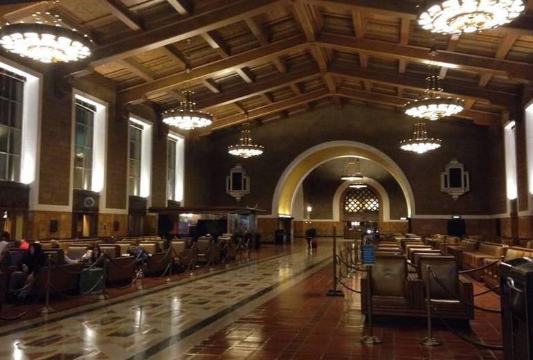 Union Station Los Angeles Waiting Room
