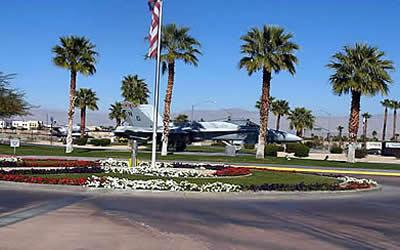 Palm Springs Air Museum Entrance