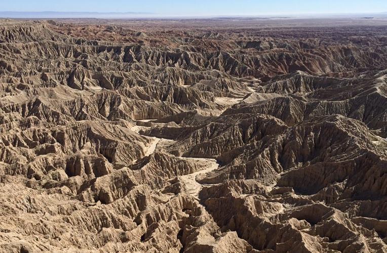Anza-Borrego Desert State Park Badlands