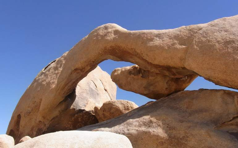 Arch Rock Joshua Tree National Park
