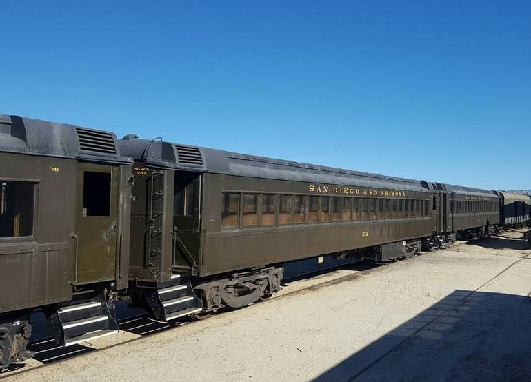 Campo Train Museum Pacific Southwest Railway