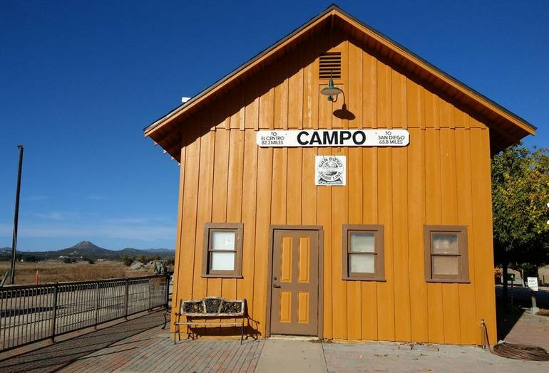 Day Trip to Campo Train Museum