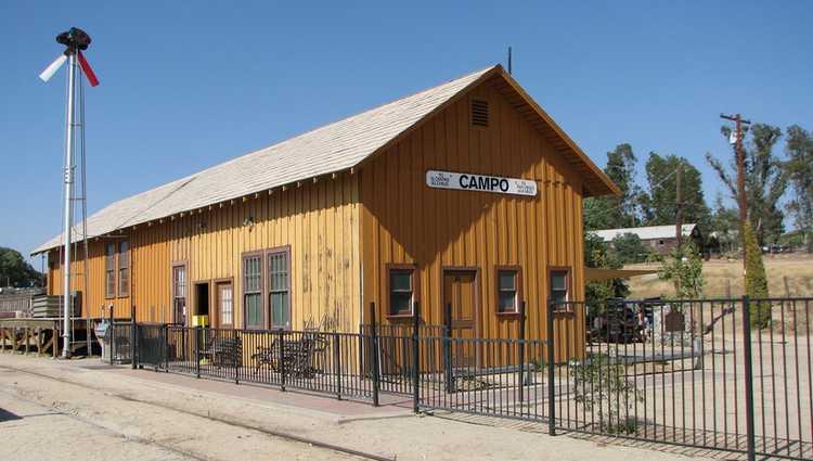 Campo Train Station