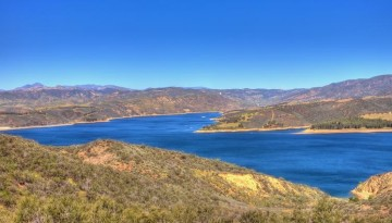Castaic Lake Day Trip Fishing Hiking and Camping