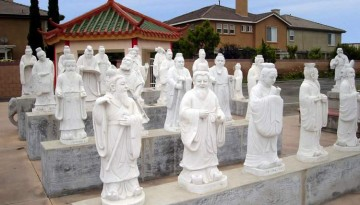 Cultural Court Statues Little Saigon