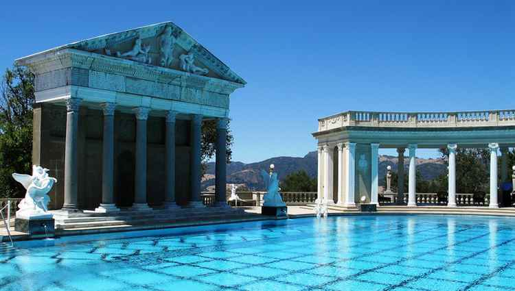Hearst Castle at San Simeon