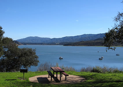 Lake Cachuma Santa Barbara County Day Trip