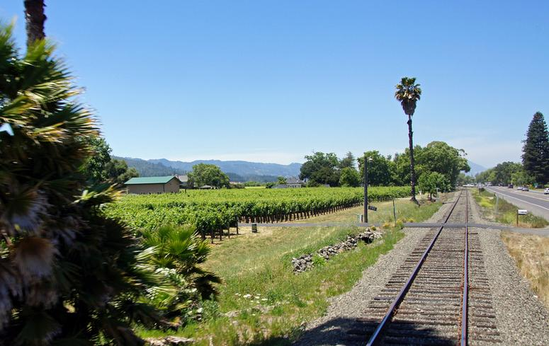 Napa Valley Wine Train Trip