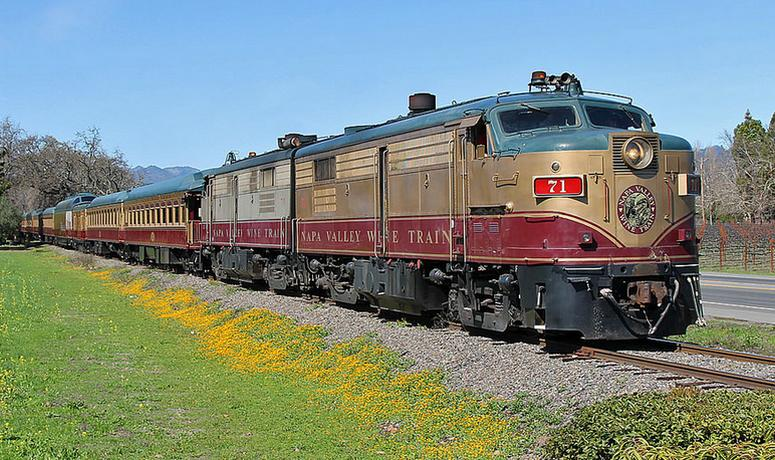 Napa Valley Wine Train San Francisco Day Trip