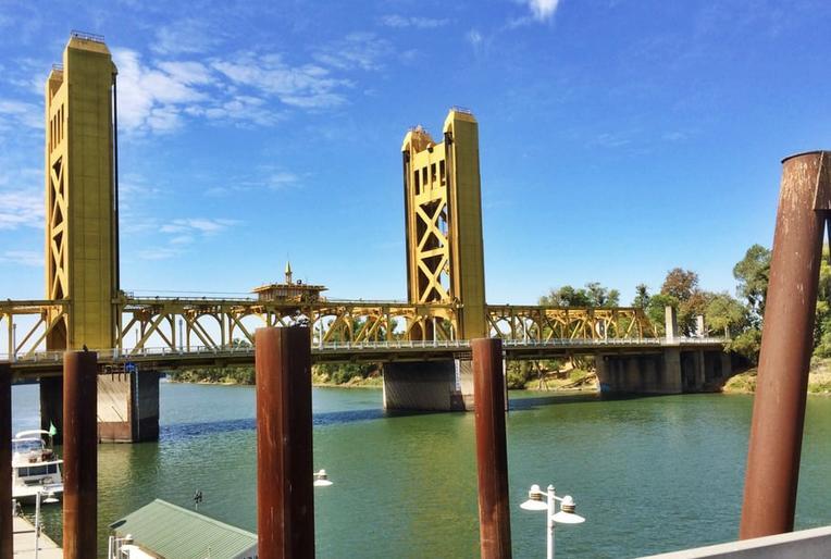 Sacramento River Old Town
