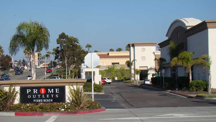 Pismo Beach Outlet Mall Stores Central Coast Shopping