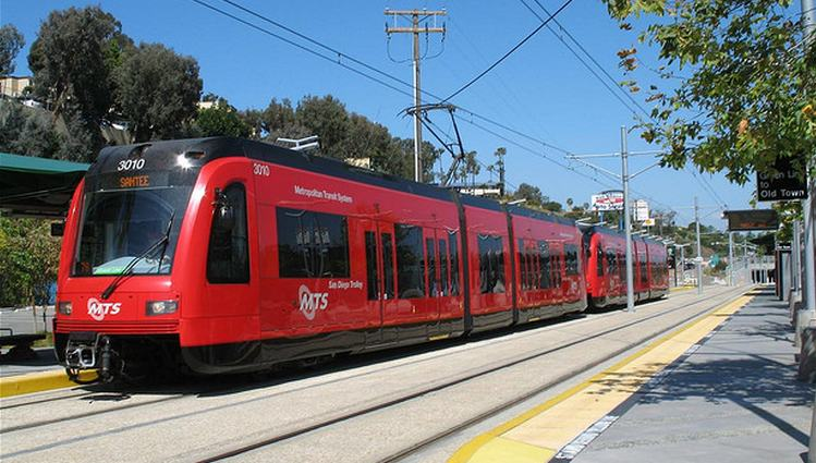 San Diego Red Trolley