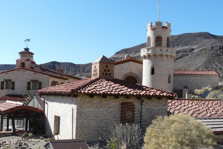 Scotty's Castle Death Valley California