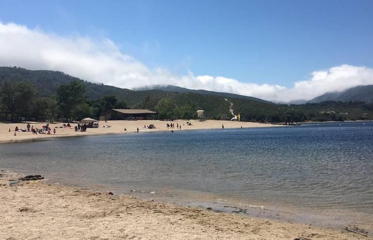 Silverwood Lake Beach