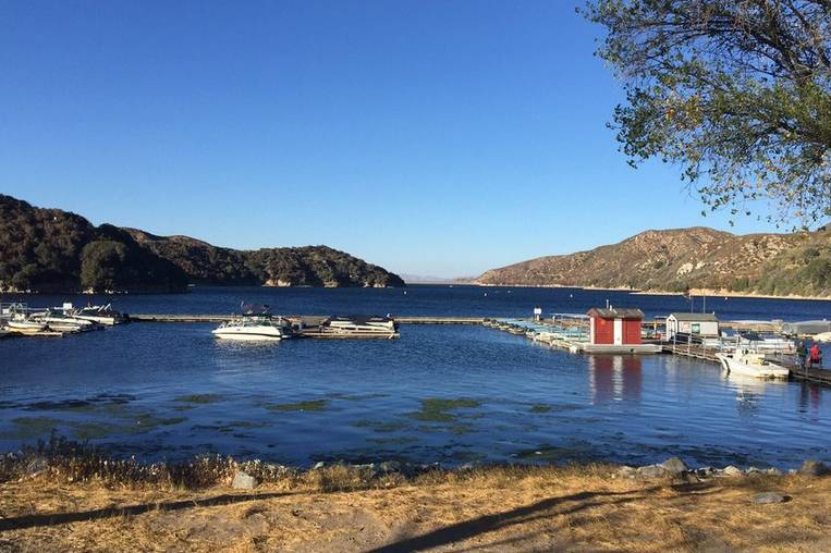 Silverwood Lake Boat Docks