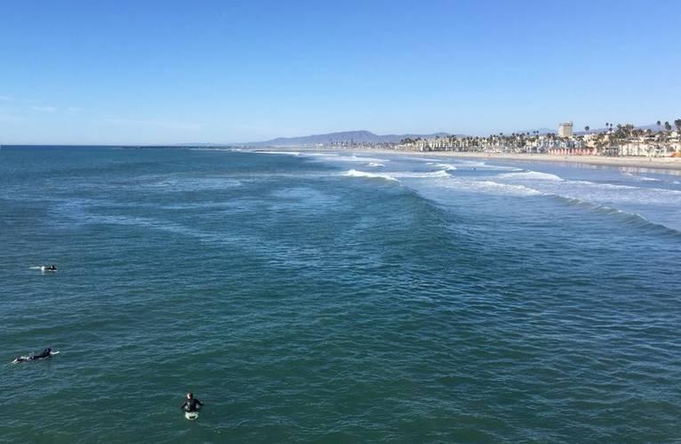 Surfers Oceanside California
