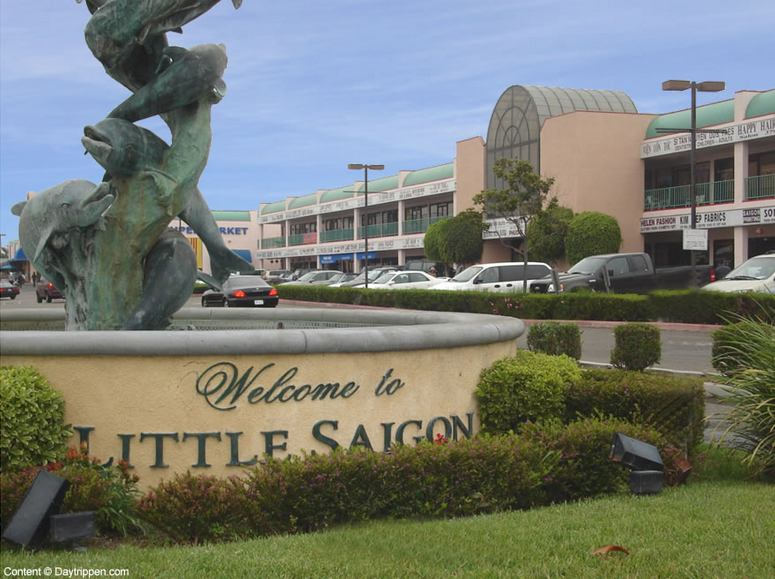Welcome To Little Saigon Sign